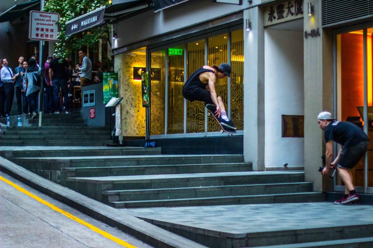 Hong Kong Ninja Ollie