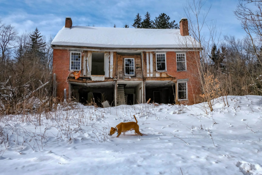 Southern VT House falling down